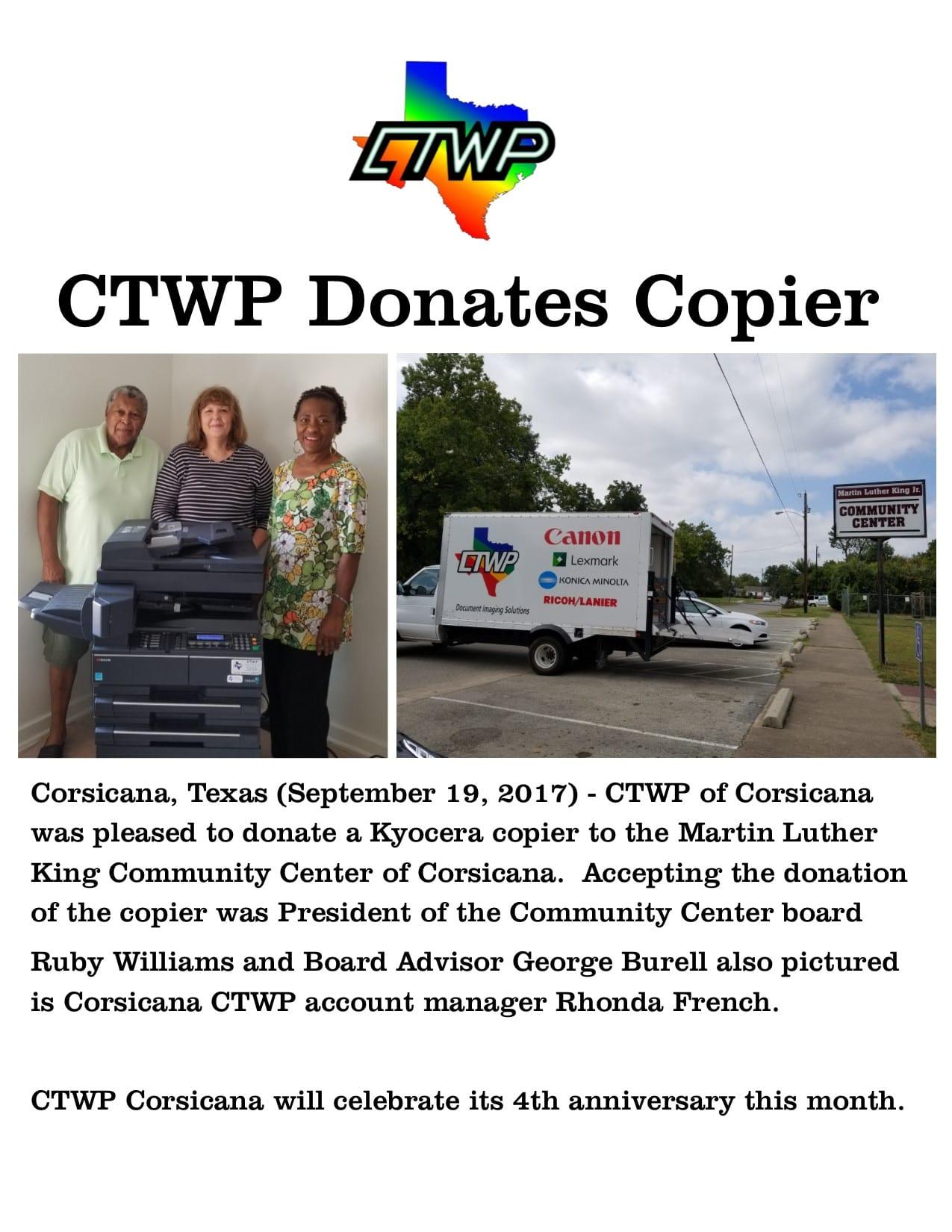 copier donation