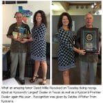 Kyocera Largest Dealer in Texas Award