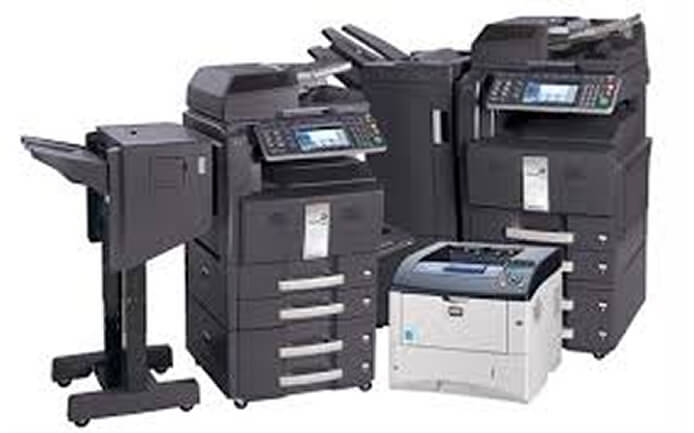 group of copiers