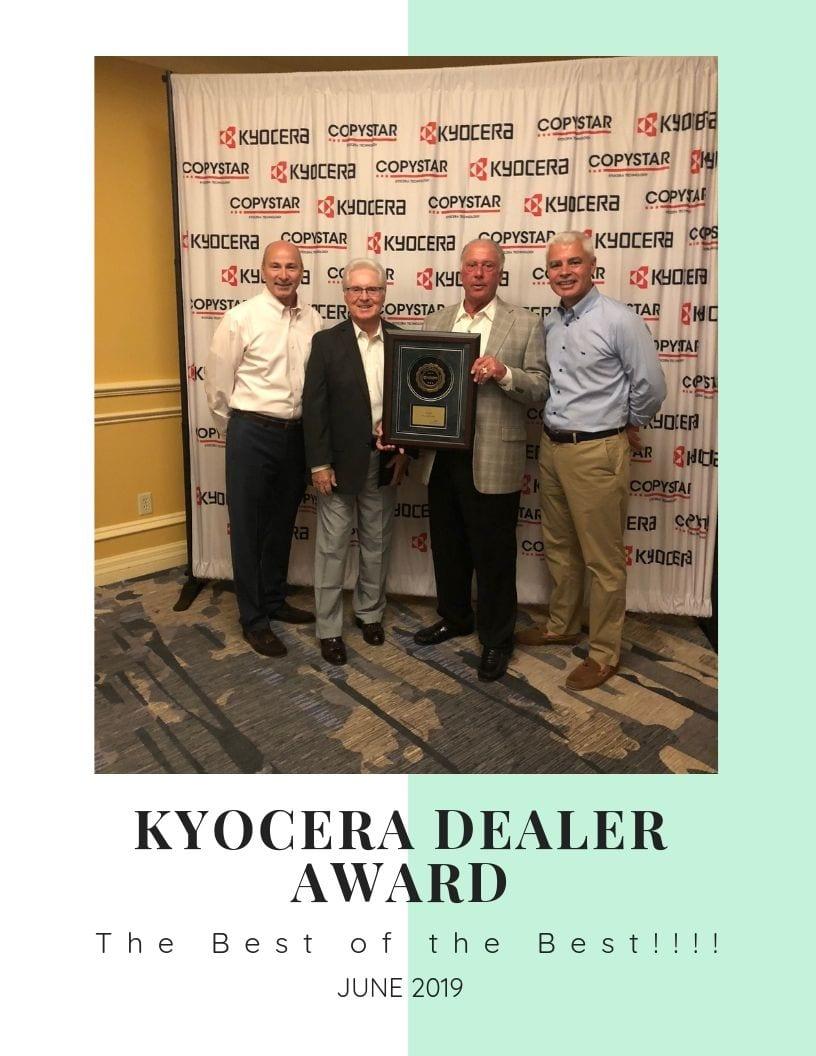 Kyocera Dealer Award (2)
