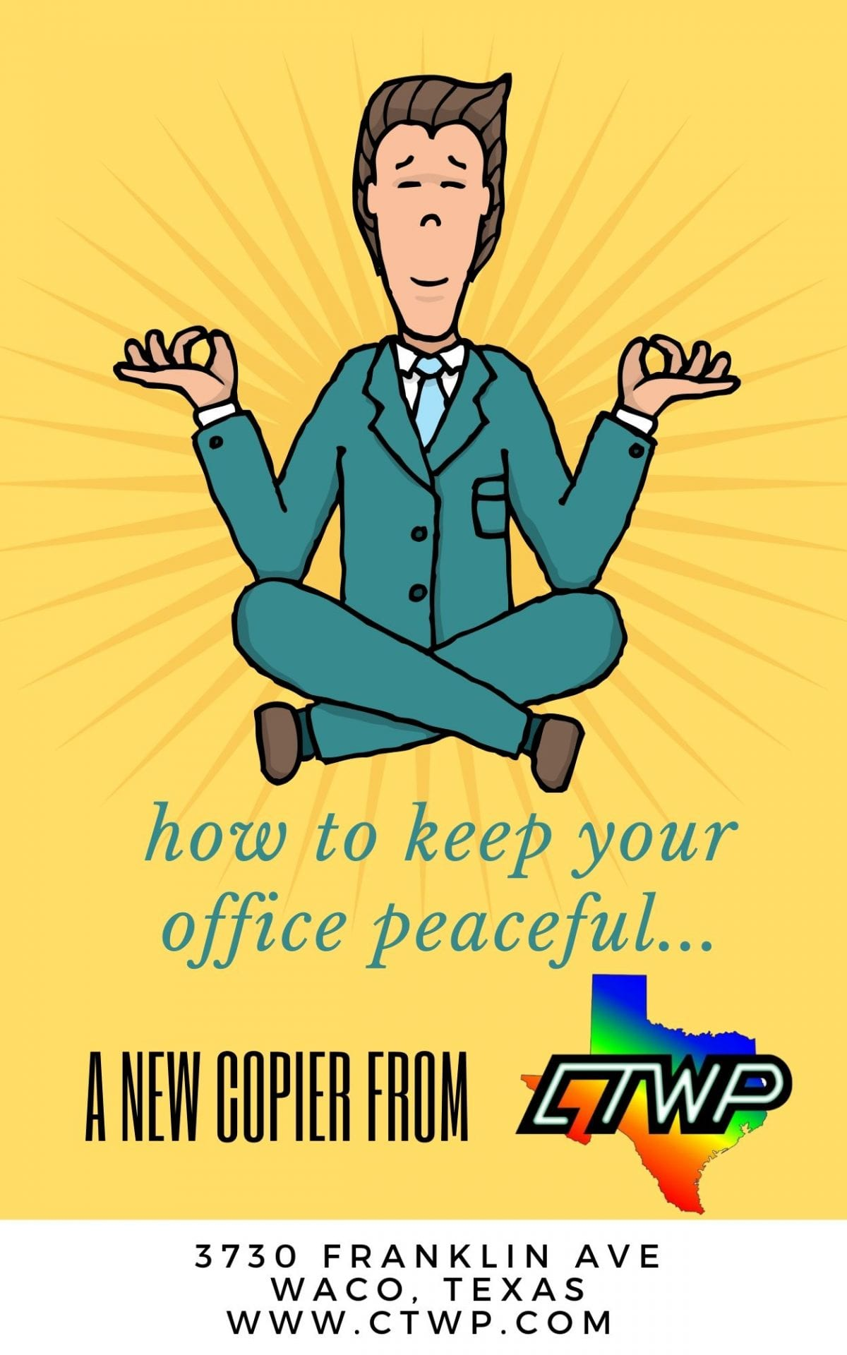 how to keep your office peaceful... (1)