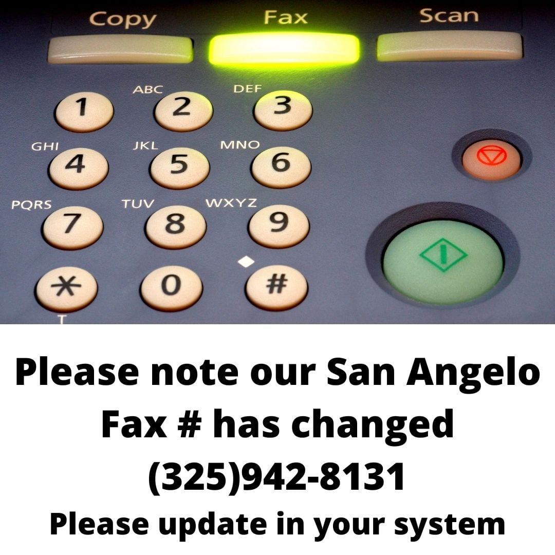 Fax update