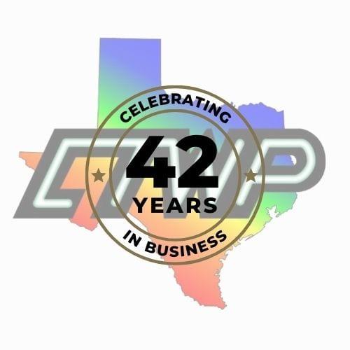 Gold Anniversary Badge Round Logo